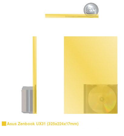 Zenbook-størrelse